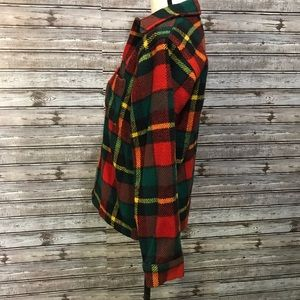 Johnson Woolen Mills Shirts - Johnson Woolen Mills Wool Plaid Shirt Vintage